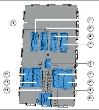 FEM модуль BMW X3 G01